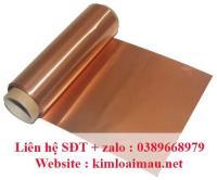 Đồng tấm đỏ dày 0.25mm