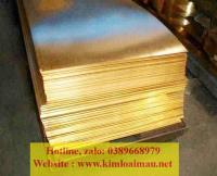 Đồng tấm vàng dày 2mm